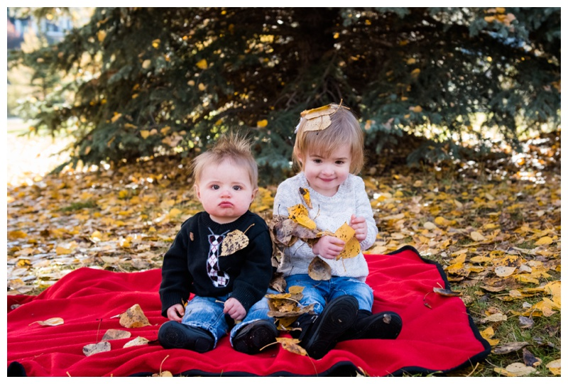 Fall Family Photos Cochrane