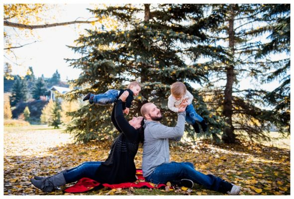 Fall Cochrane Family Photography – Cochrane Family Photographer