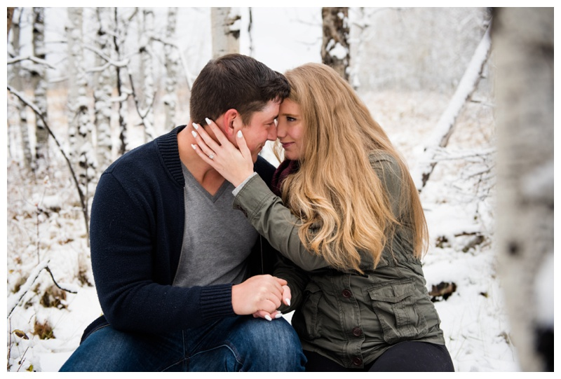 Winter Engagement Session Calgary
