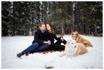 Bragg Creek Couple Photography – Bragg Creek Provincial Park Photography