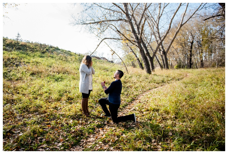 Calgary Surprise Wedding Proposal
