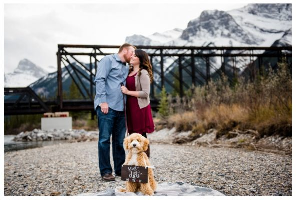 Town of Canmore Engagement Photography – Shane & Bethany's Engagement