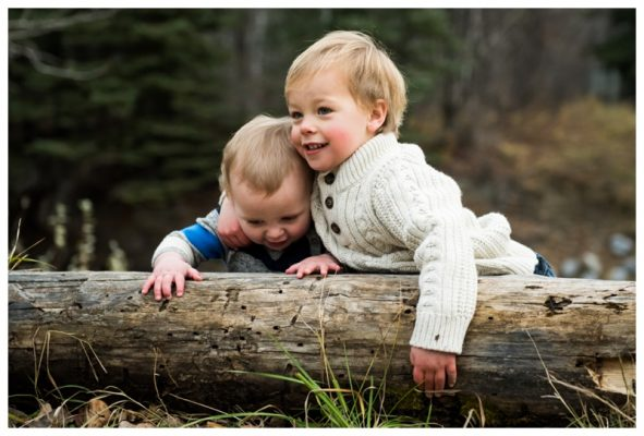 Calgary Fall Children's Photography – Henry & George