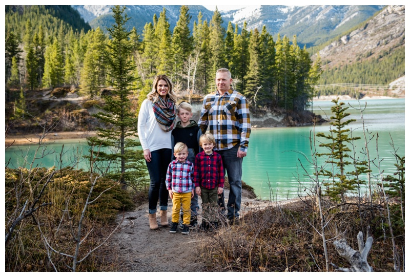 Barrier Lake Family Photos
