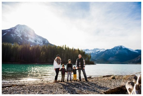 Alberta Barrier Lake Family Photography – Canmore Family Photographer