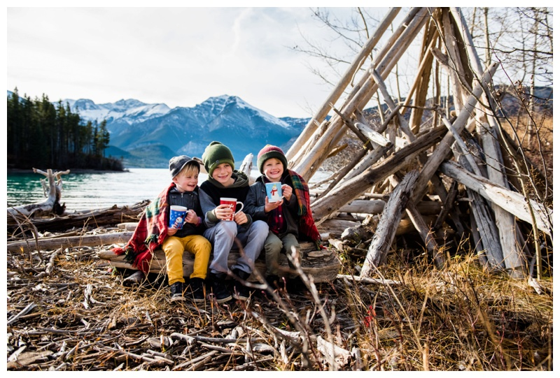 Kananaskis Barrier Lake Family Photography