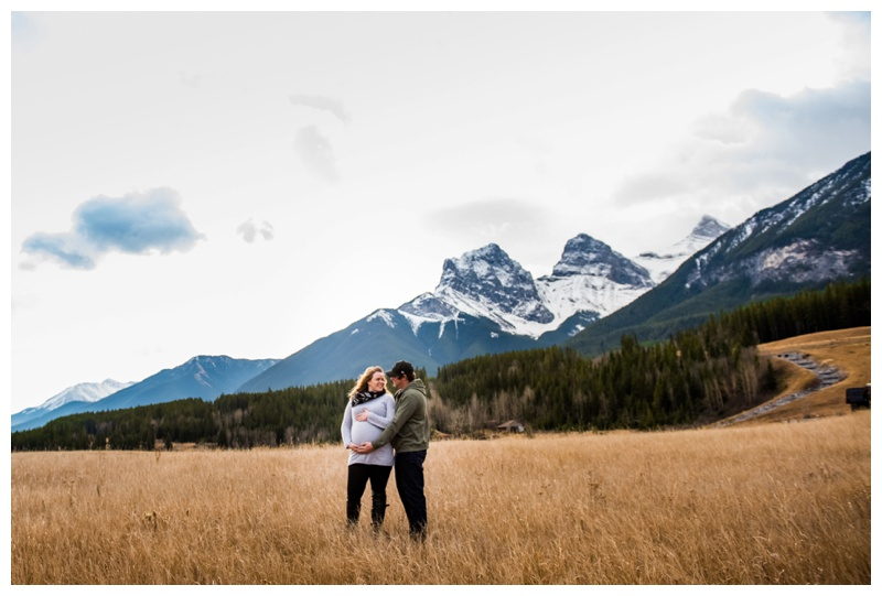 Canmore Mountain Maternity Photography