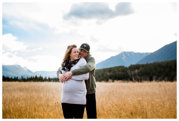 Canmore Mountain Maternity Photography ~ Canmore Maternity Photographer