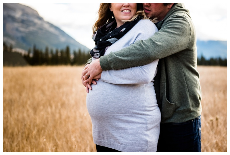Mountain Maternity Photography Canmore