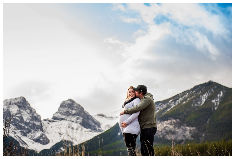 Rocky Mountain Maternity Photography Canmore