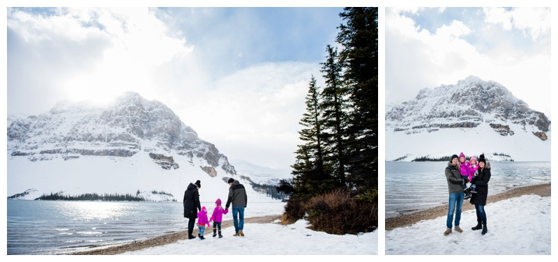 Bow Lake Family Photography Session