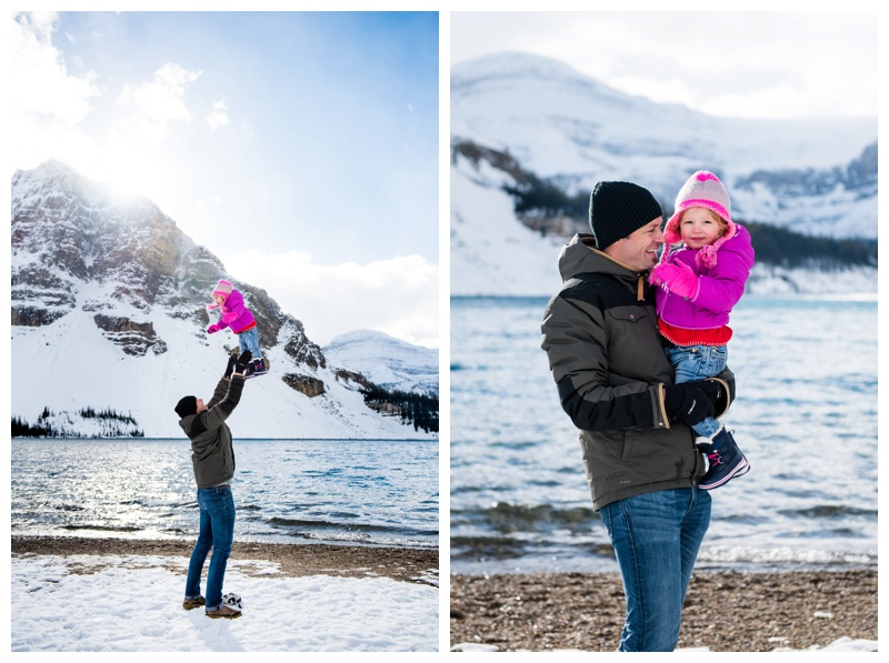 Dad & Daughter Family Photography Canmore