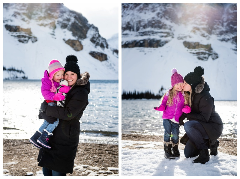 Mom & Daughter Family Photography Canmore