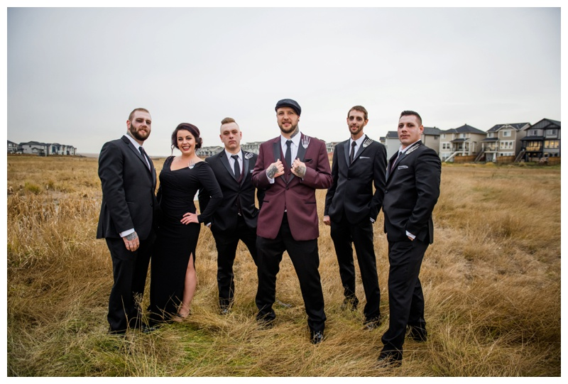 Groom & Groomsmen Photography Calgary