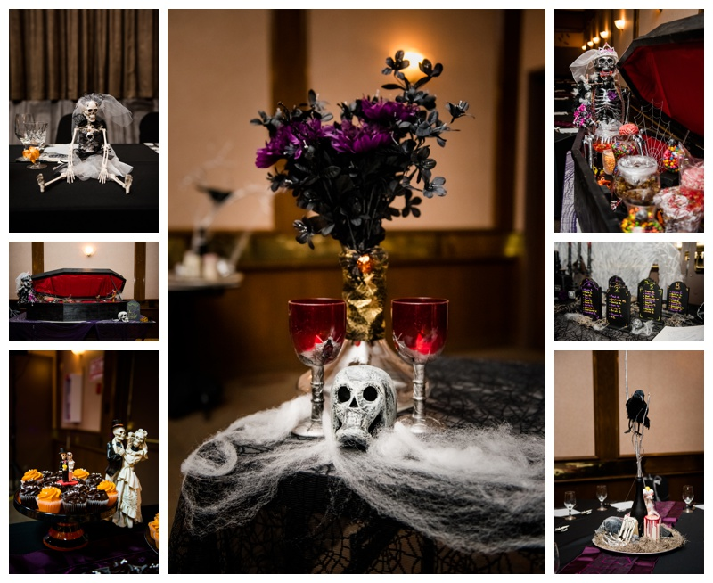 Halloween Wedding Decor Calgary