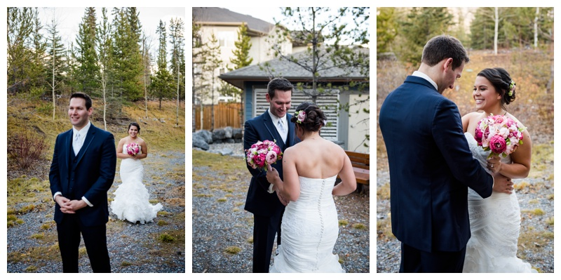 Canmore Wedding First Look