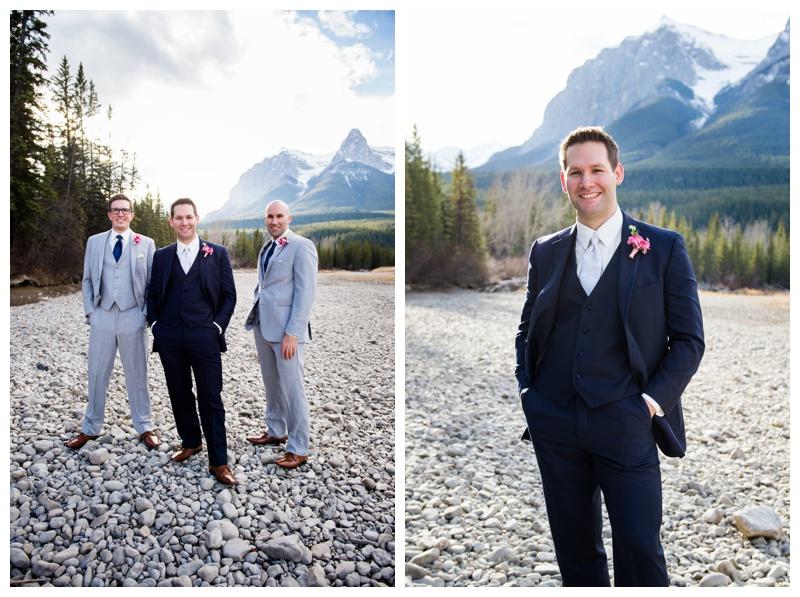 Groomsmen Photography Canmore Alberta