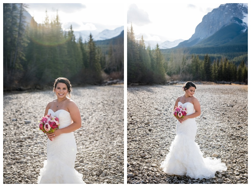 Canmore Mountain Bride
