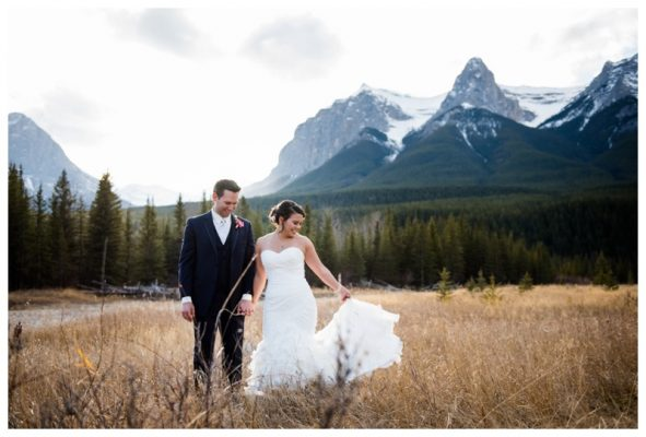 Canmore Cornerstone Theatre Wedding – Canmore Wedding Photographer