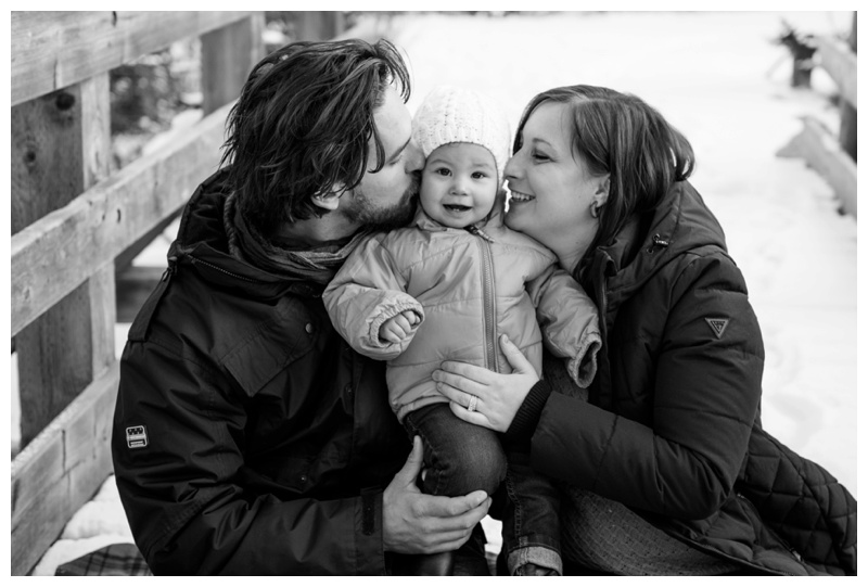 Winter Family Photos Calgary