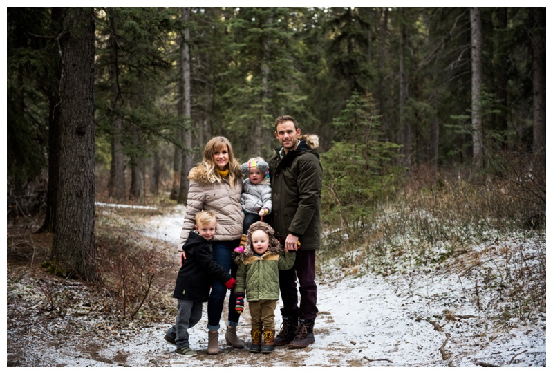 Winter Family Session Clagary