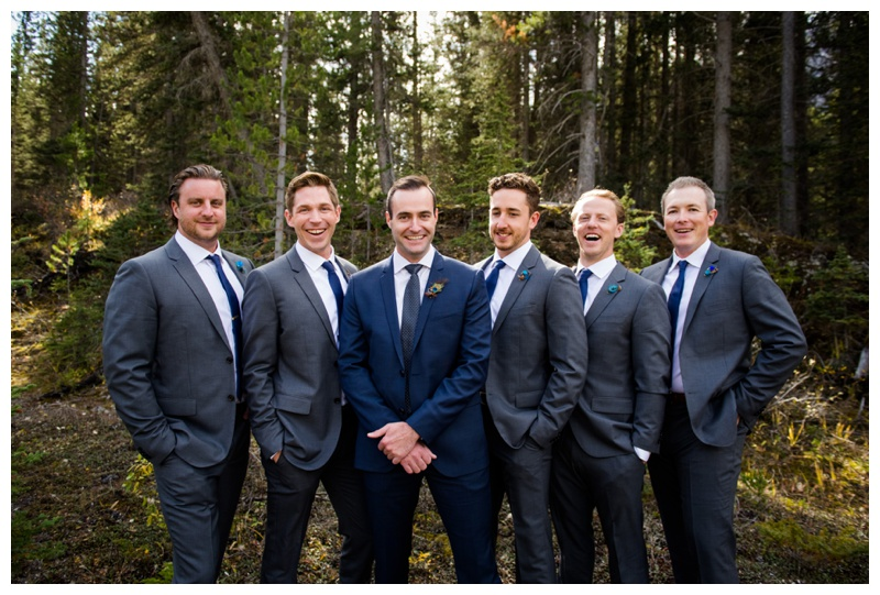 Groomsmen Photography Canmore