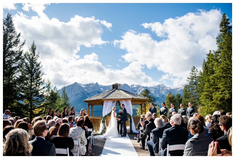 Canmore OUtdoor Wedding Ceremonies
