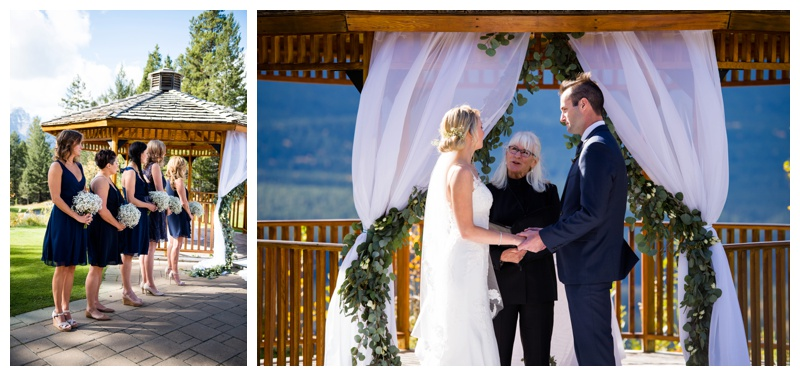 Canmore Wedding Ceremony