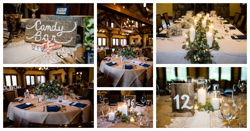 Canmore Silvertip Resort Wedding Reception