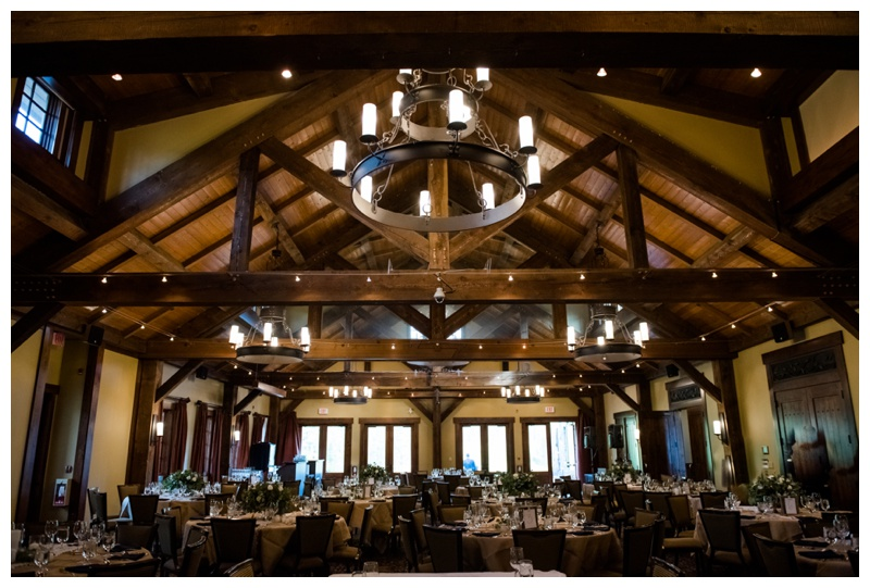 Silvertip Golf Course Wedding Reception