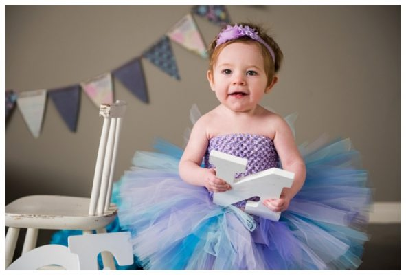 Calgary First Birthday Cake Smash – Cataleya is ONE!