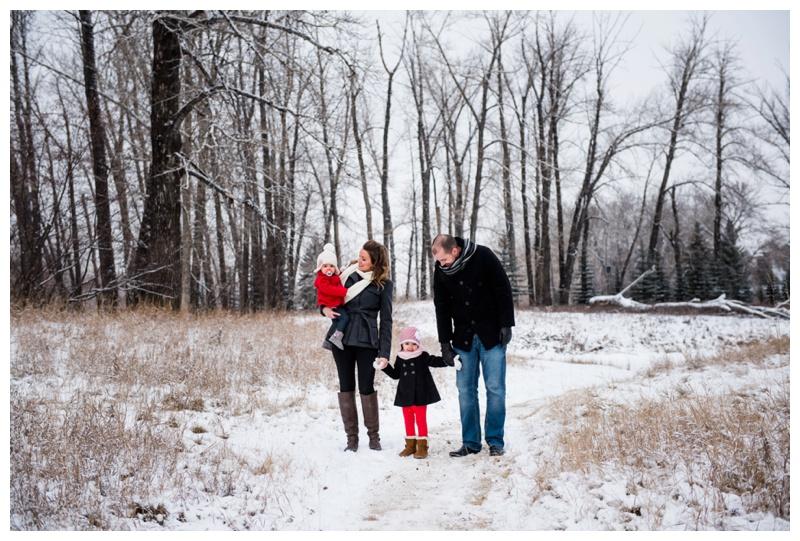 Calgary Winter Family Photography