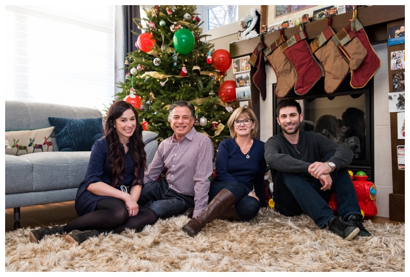 Calgary Christmas Family Photography