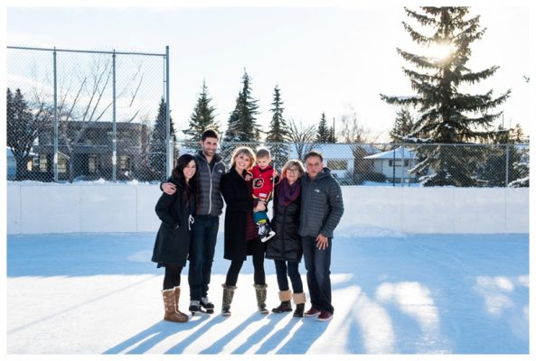 Calgary In Home Family Photo Session – Calgary Winter Family Photographer