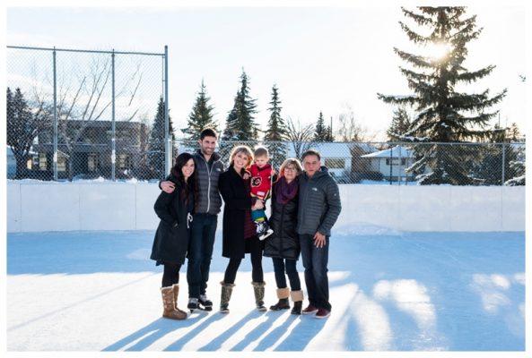 Calgary In Home Family Photo Session – Calgary Winter Family Photographer