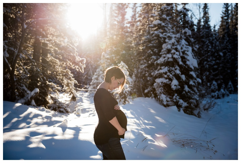 Maternity Photos Kananaskis