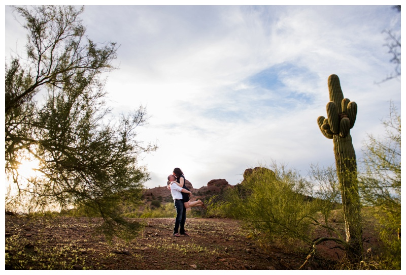 Papago Park Engagement Photos