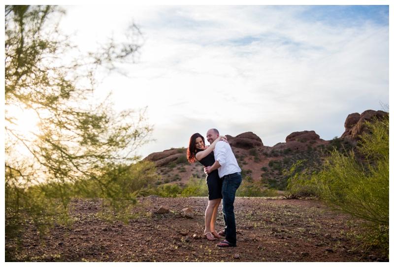 Engagement Photos Papago Park