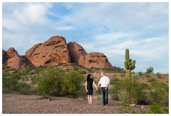 Phoenix Papago Park Couple Photography – Calgary Destination Wedding Photographer