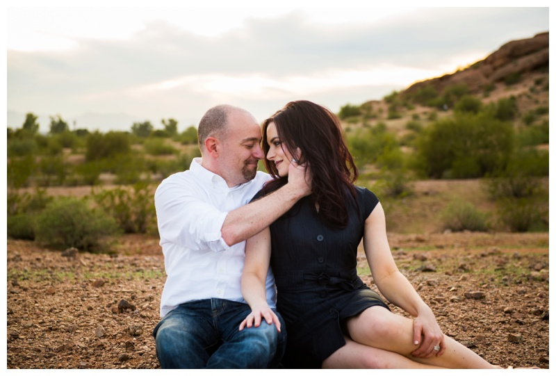Phoenix Papago Park Couple Photography