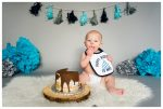 Calgary First Birthday Photography – Calgary Cake Smash Photos