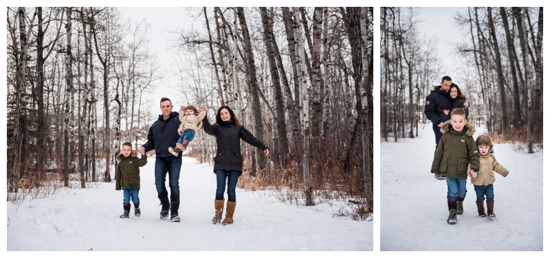 Winter Family Photography Calgary