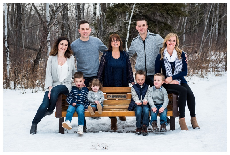 Calgary Extended Family Photography