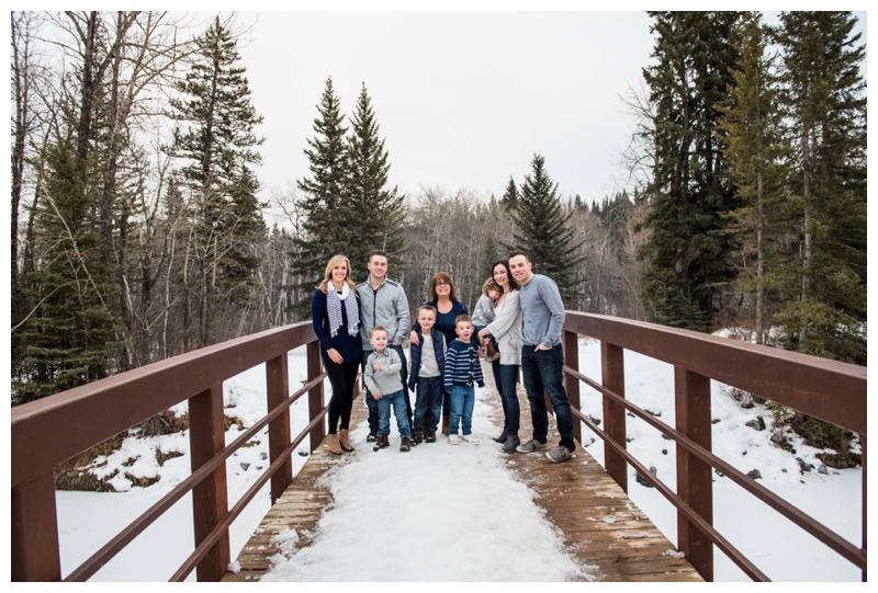 Calgary Fishcreek Park Extended Family Photos
