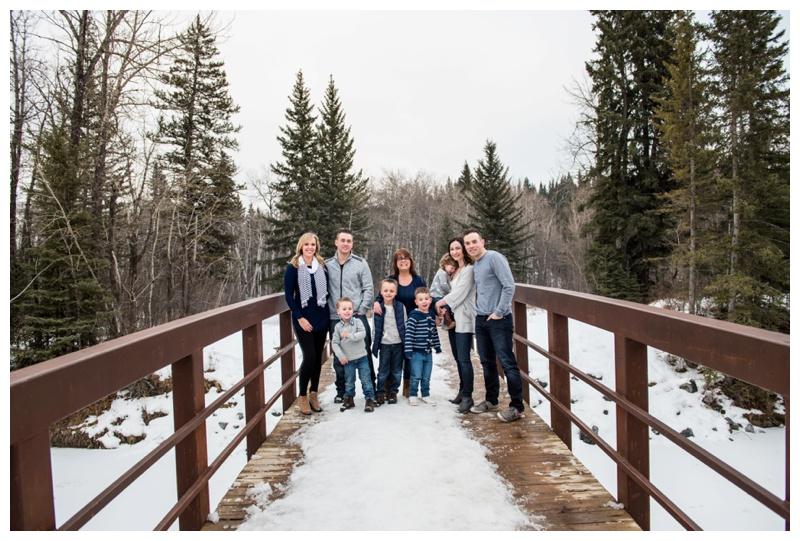 Calgary Fishcreek Park Extended Family Photos
