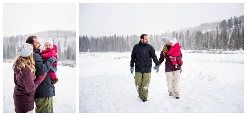 Winter Family Photography Calgary
