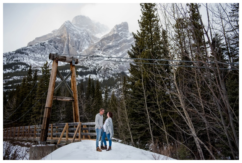 Galetea Creek Kananaskis Maternity Photography