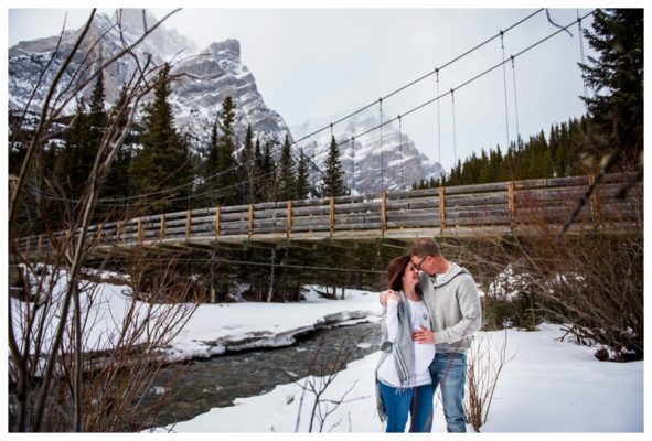 Galetea Creek Maternity Photography – Canmore Maternity Photographer