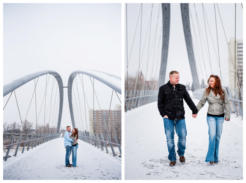 Calgary East Village Engagement Photography