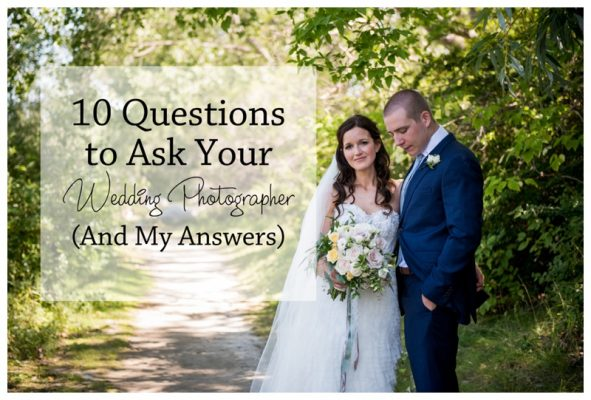10 questions to ask your wedding photographer and my for Questions for wedding photographer